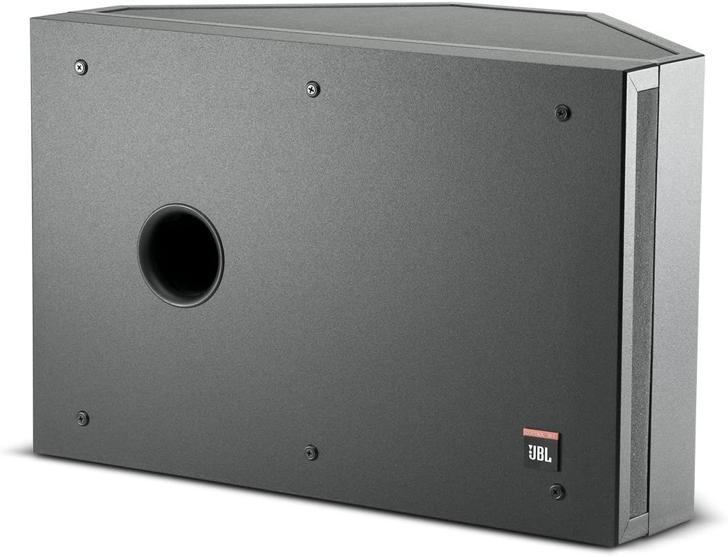 JBL Professional Control SB-2 Stereo Input Dual Coil Subwoofer,10-Inch, Black