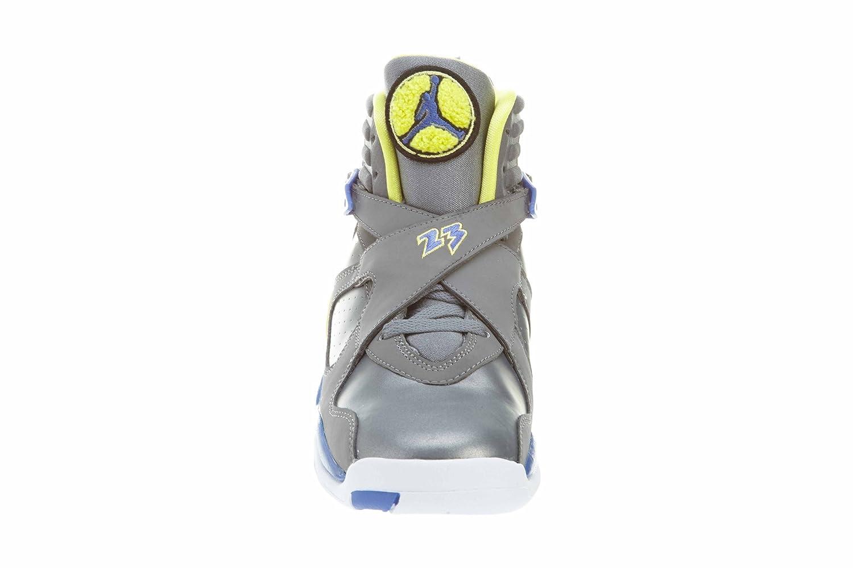 Jordan Nike Air 8 Retro Laney Girls Basketball Shoes 580528-038 Cool Grey 5.5 M US GS