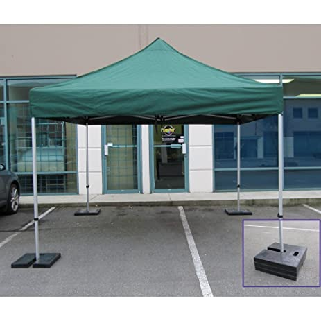 Impact Canopy Pop Up Tent Weights Canopy Weight Plates for Outdoor Canopy Legs Set  sc 1 st  Amazon.com & Amazon.com: Impact Canopy Pop Up Tent Weights Canopy Weight ...