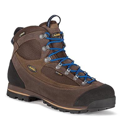 e84f41426b520 AKU Hiking Shoes Trekking 838 – 170 Trekker Lite II GTX Men Antrim. Orange  Black