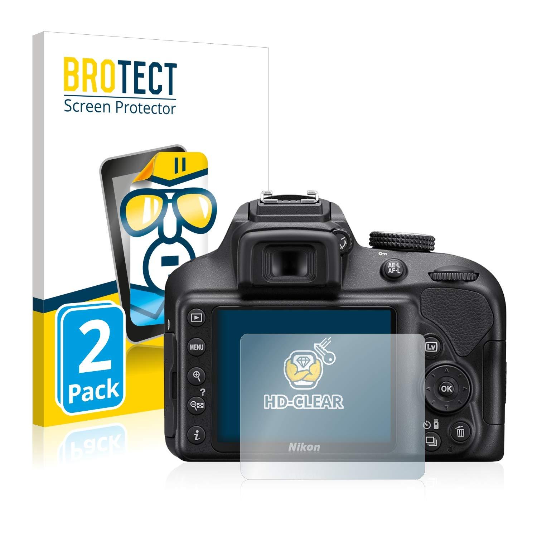 BROTECT Protector Pantalla Compatible con Nikon D3400 Protector ...