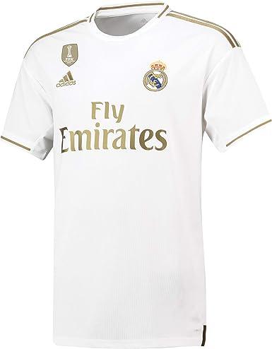 Real Madrid Camiseta - Personalizable - Primera Equipación Original Real Madrid 2019/2020: Amazon.es: Ropa y accesorios
