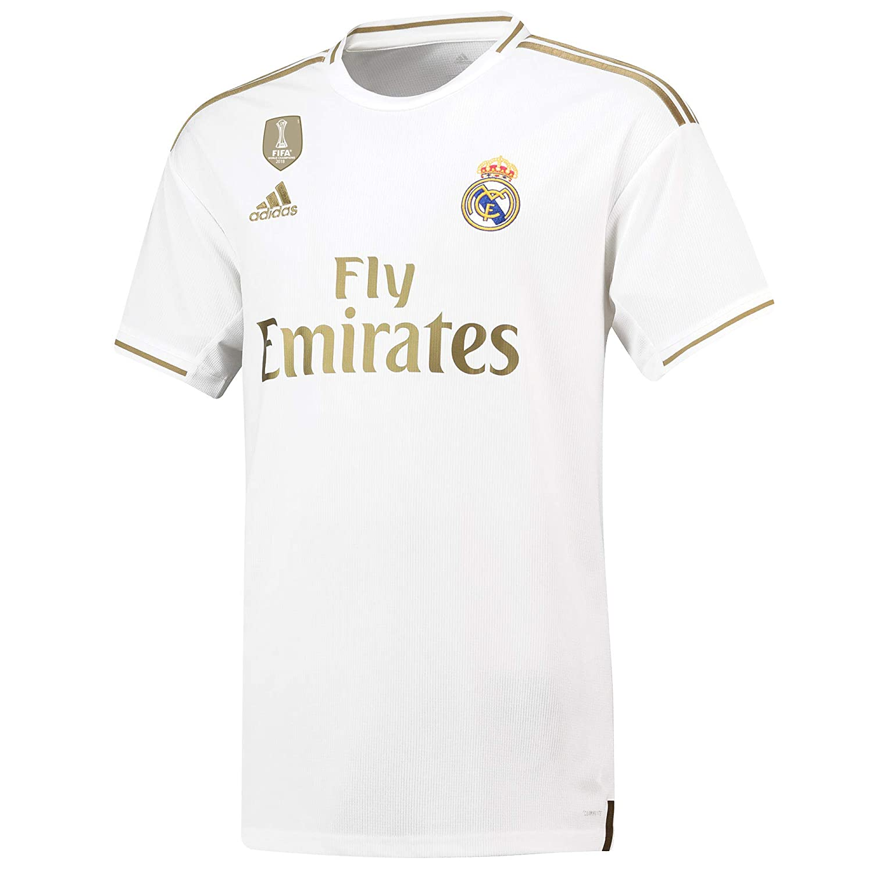 Camiseta de la 1ª equipación del Real Madrid 2019-20 Dorsal ...