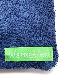 product image for Warmables Back Pain Heat Pack Pillow (Navy)