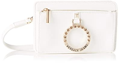 8505853812 Image Unavailable. Image not available for. Color: Versace EE1VTBBA3 E003 White  Shoulder Bag for Womens