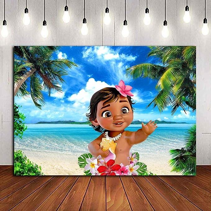 2019118 Hintergrund Tropische Moana 5x3ft Kamera