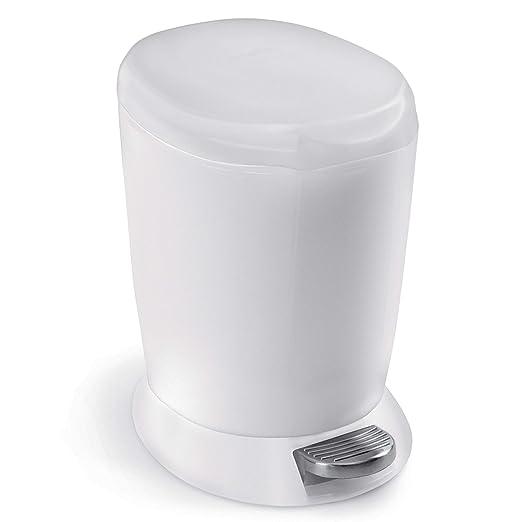 Amazon.com: Cesto de basura mini de 6 litros/1.6 galones ...