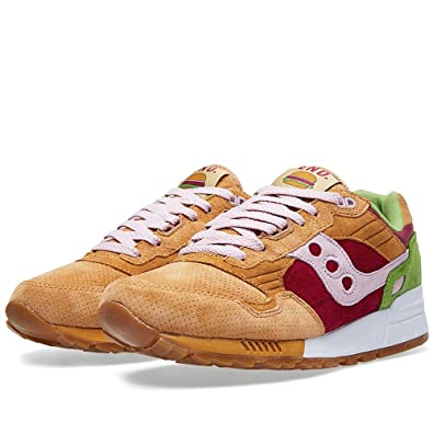 Saucony Shadow 5000 'Burger' x End Marrón/Red/Green Light Marrón/Red/Green End Trainer 5eabb5