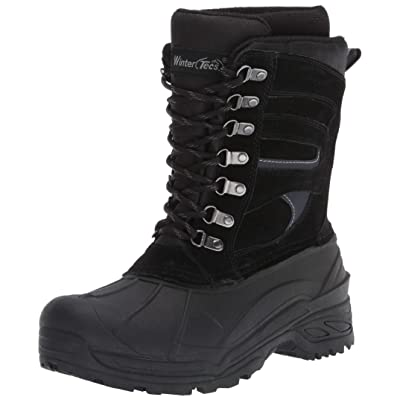 TECS Men's Winter, Snow, Boot, Bootie   Snow Boots