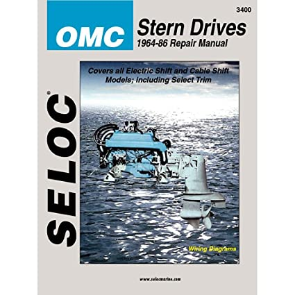 amazon com omc stern drive 1964 1986 repair manual coles automotive rh amazon com OMC Sterndrive 800 OMC Sterndrive 800