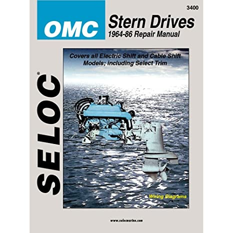 amazon com omc stern drive 1964 1986 repair manual coles automotive rh amazon com OMC Sterndrive Diagnosis OMC Sterndrive 800