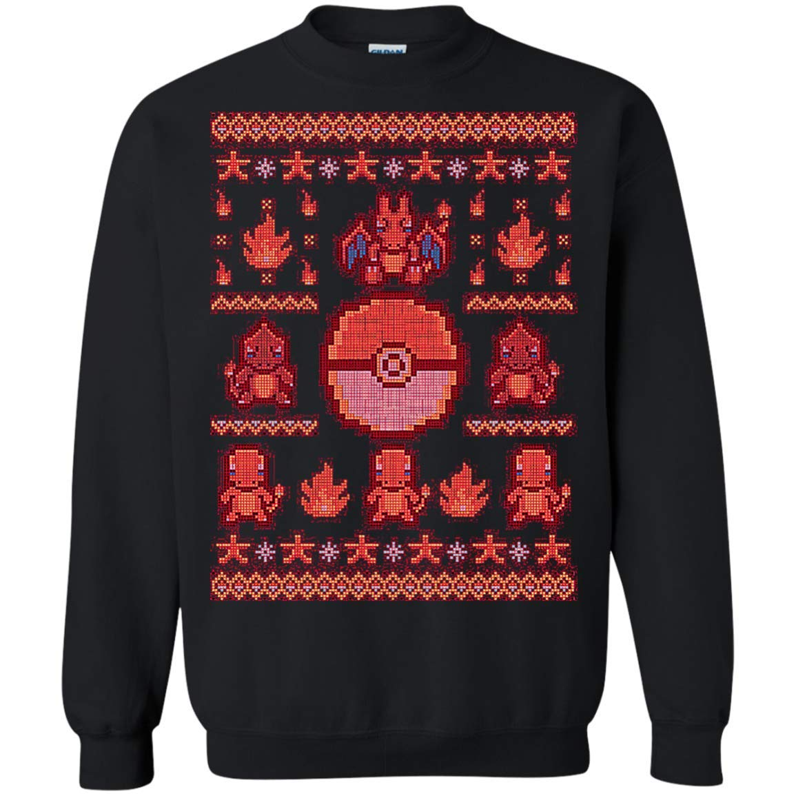 Cover Your Body With Amazing Charizard Pokemon Ugly Sweater Perfect Christas Gifts Shirts