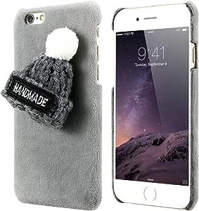 iPhone 7 winter style fluffy velvet case cover