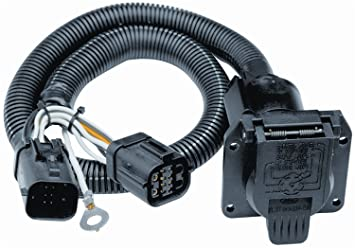 amazon com tow ready 118242 7 way replacement tow package wiring tow ready 118242 7 way replacement tow package wiring harness