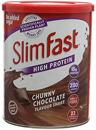 Slim Fast rico chocolate batido de leche en polvo: Amazon.es: Salud y cuidado personal