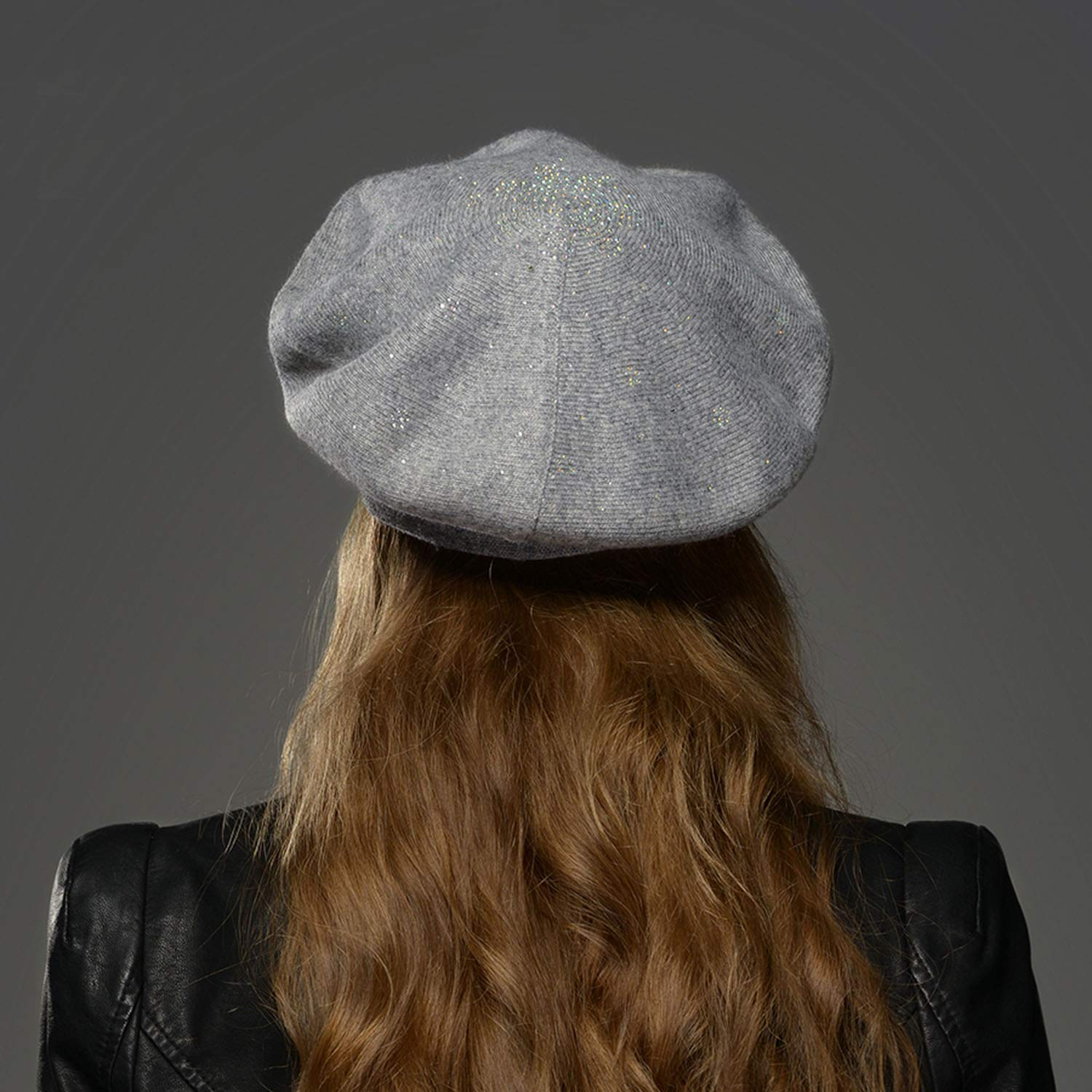 5168b5bcd8adb5 Dami-shop High end Winter Hat Berets 2018 New Wool Cashmere Womens Warm  Brand Casual Hats for Girls Cap ...