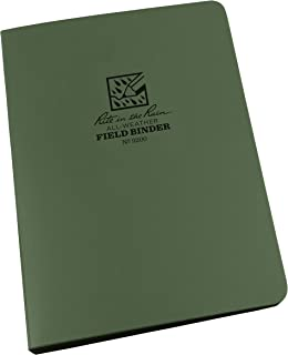 """product image for Rite in the Rain All-Weather 1/2"""" Ring Binder, 5 5/8"""" x 7 7/8"""", Green Binder (No. 9200)"""