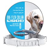 Dog Flea and Tick Control Collar - Treatment and