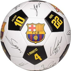 Maccabi Art FC Barcelona Soccer Ball Size 5 Signatures