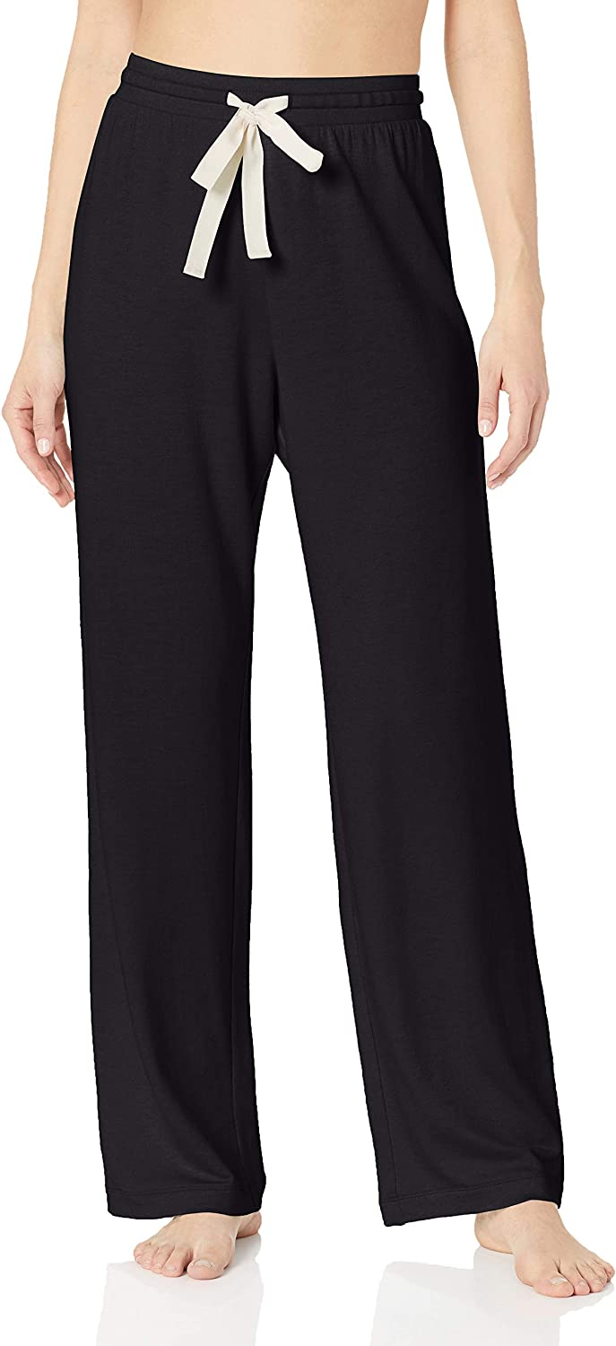 Pajama-Bottoms Donna Essentials Lightweight Lounge Terry Pant