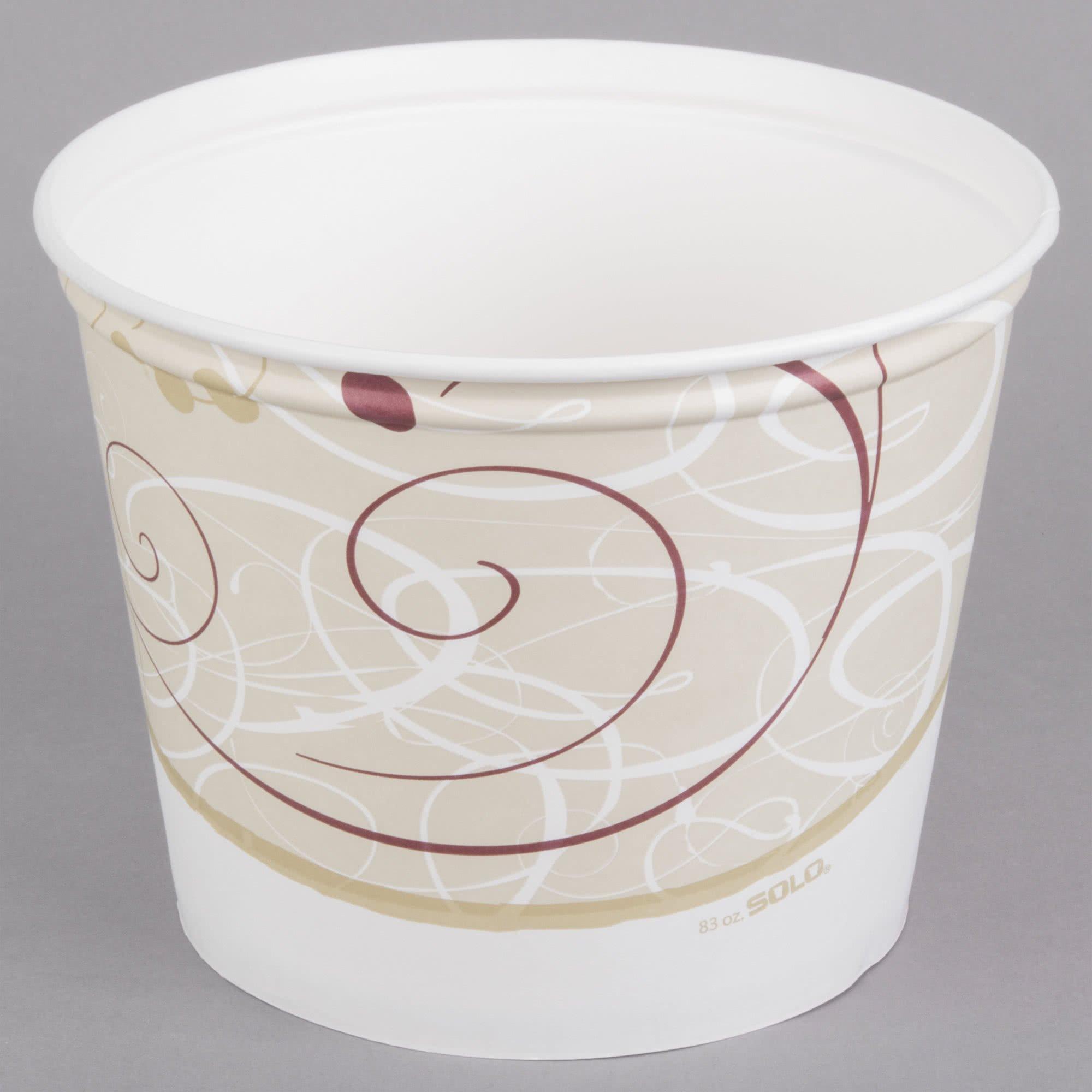 Dart Solo 5T1GR-J8000 Symphony 5 lb. Paper Hot Food Bucket - 100/Case