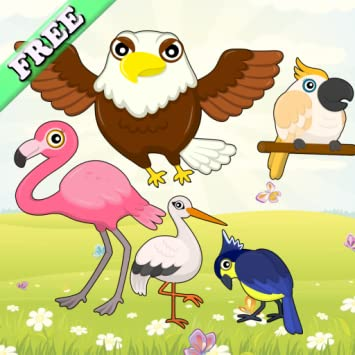 Birds Match Games for Toddlers and Kids : discover the bird species! FREE app
