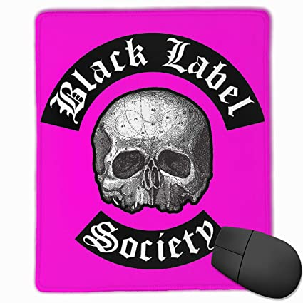 c87624ad295d Amazon.com : PEACE NEW STORE Black Label Society Logo Gaming Mouse ...