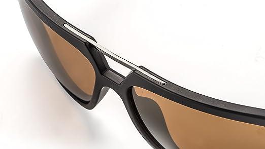 Unisex Sonnenbrille im modernen Aviator-Design mit doppeltem Nasensteg F2501447 ceeTEqAOU