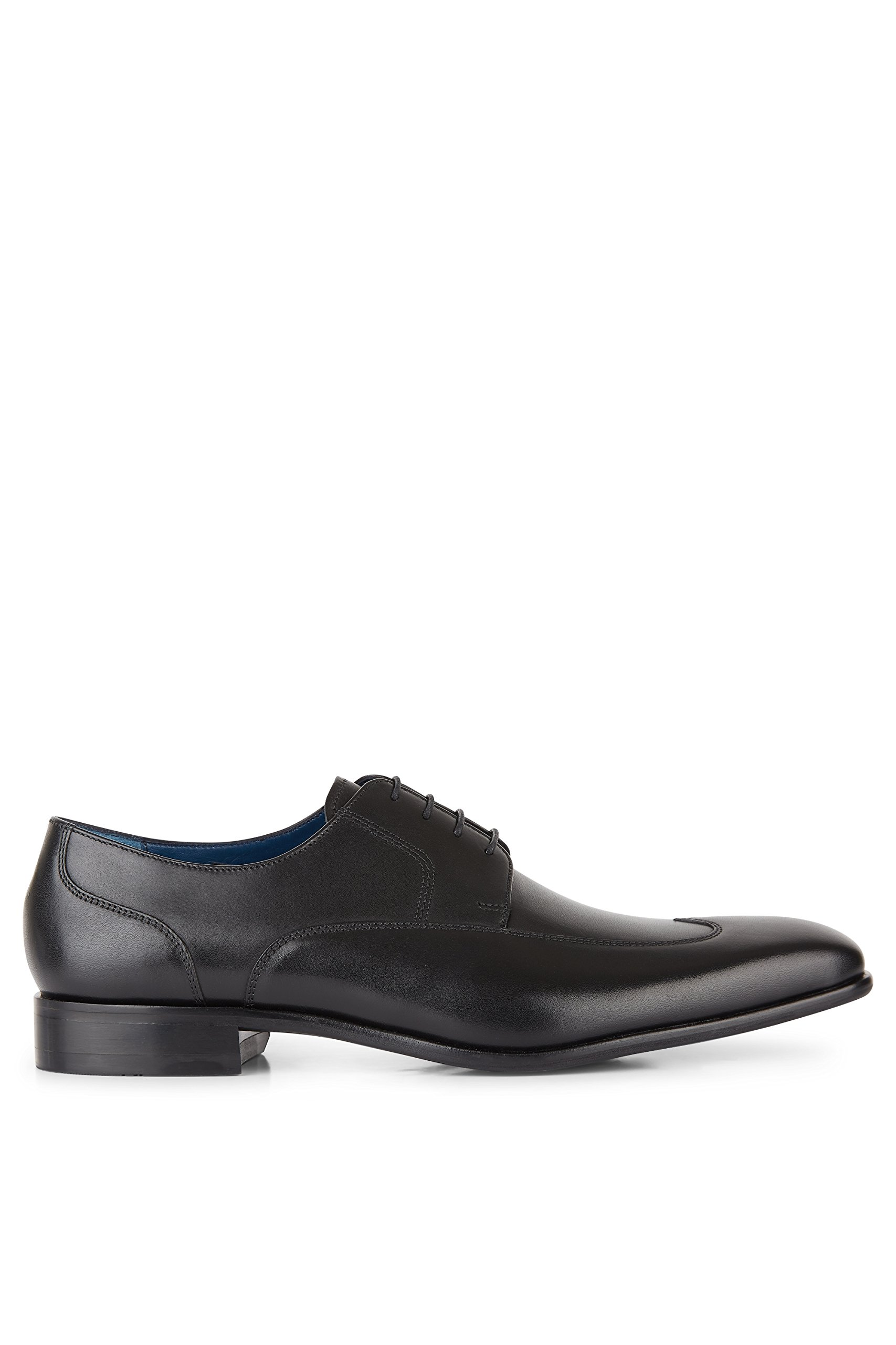 Moss 1851 Men's George Black Wing Tip Derby 12.5 by Moss 1851