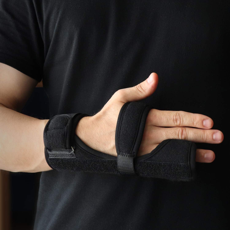 Soles - Muñequera Metacarpiana de Neopreno con Férula para Fractura del Boxeador - Compatible con ambas manos: Amazon.es: Salud y cuidado personal