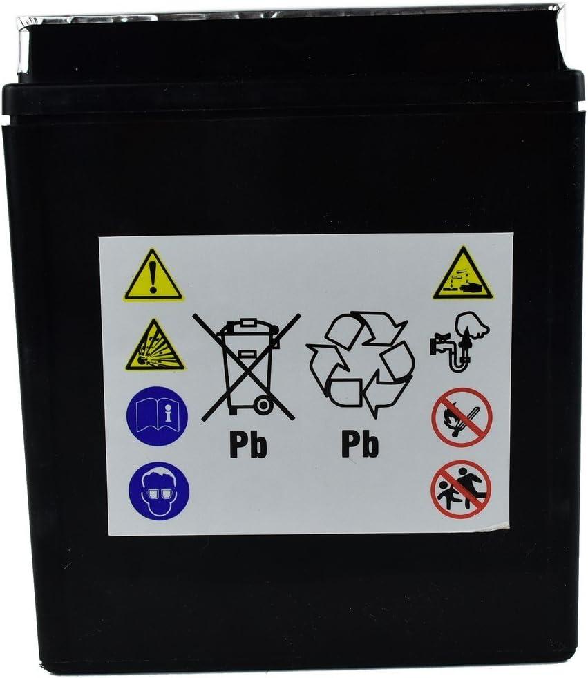 Zerimar Kenrod Motorrad Batterien Quad Batterien Batterien Moped Batterien Ersatzteile Batterie 12v 6 Ah Auto
