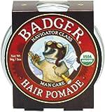 Badger Man Care Hair Pomade, 2 oz tin