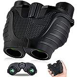 Binoculars 15x25, HD Professional/Waterproof Binoculars with Low Light Night Vision, Durable & Clear BAK4 Prism FMC Lens Bino