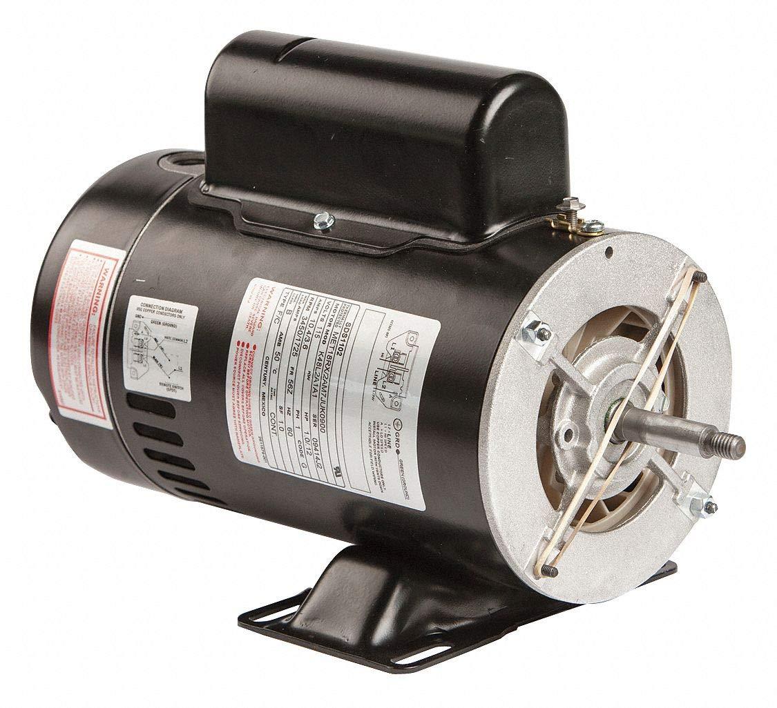 Pool Motor, 1, 1/10 HP, 3450/1725 RPM, 115V