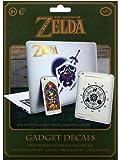 The Legend of Zelda Hyrule Decals Reusable Waterproof Gadget