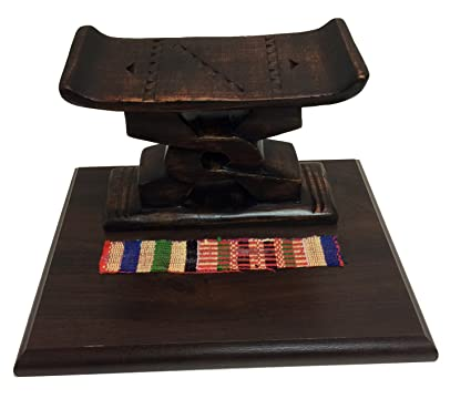 Cool Amazon Com Ashanti Stool Desk Caddy Handmade In Ghana Creativecarmelina Interior Chair Design Creativecarmelinacom
