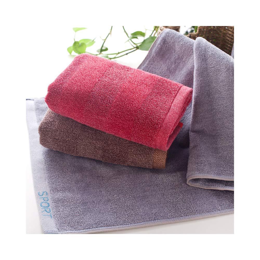 Lot de 3,35 x 75 cm lomas Grandes essuie-Mains en Coton,Serviettes de Toilettes /éponge Epaisse Super Doux s/échage Rapide Serviettes de Toilette Marron Id/éal pour Un Usage Quotidien
