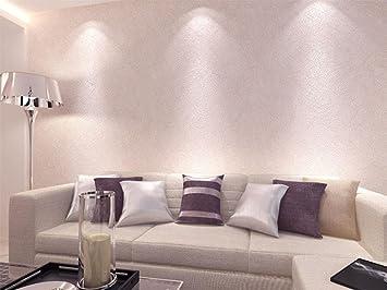 KUKI Reine Farbe Farbe Tapete Seidentapeten Schlafzimmer Wohnzimmer Moderne  Einfache 3D Dreidimensionale Warme TV Hintergrund Wand