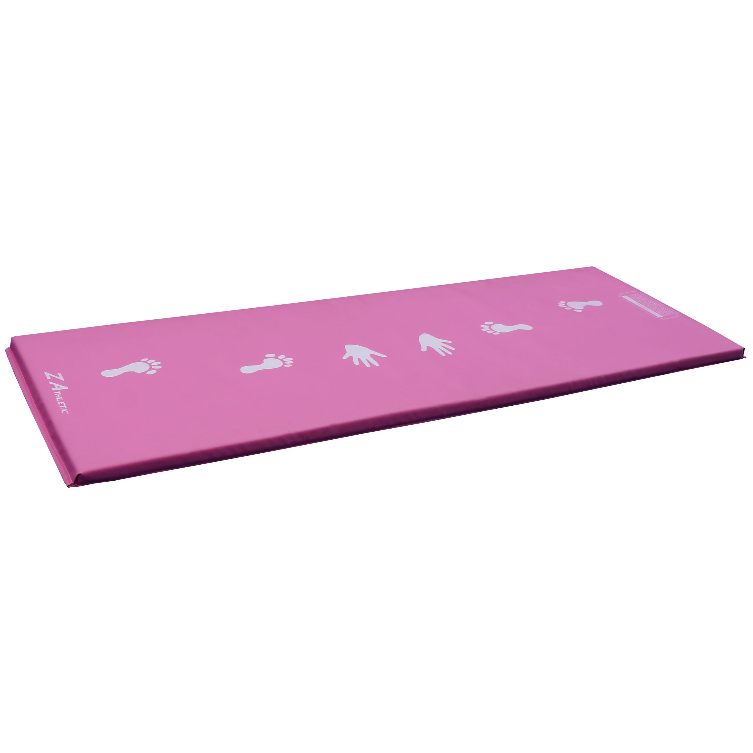 Z-Athletic Pink Children's Gymnastics Cartwheel/Beam Training Mat
