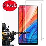 2 Pack - Xiaomi Mi Mix 2S Protector de Pantalla, FoneExpert® Ultra Tanque Transparente Cristal 9H Cristal Templado Glass Protector de Pantalla Para Xiaomi Mi Mix 2S
