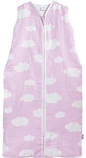 Jollein Saco de Dormir Bebes para Verano de 70x43 cm Color Verde/Rosa/Gris
