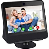 Caremoo Adjustable Stand for Facebook Portal, Metal Stand Compatible with Facebook Portal [Gen 1] 360 Degree Rotatable…