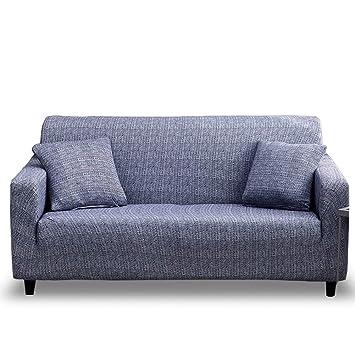 HOTNIU Funda Elástica de Sofá Funda Estampada para sofá Antideslizante Protector Cubierta de Muebles (Dos Plazas, Modelo_fsnzl)