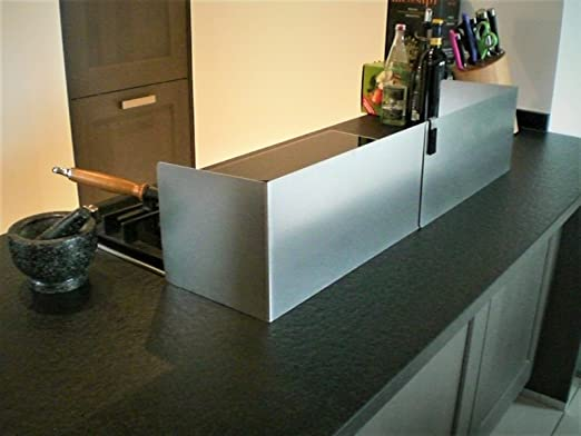 Splash guard kochinsel amazon co uk kitchen home