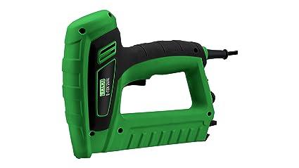 Salki 86700316 Grapadora-Clavadora Eléctrica para Grapa Tipo 53 y Brad 8