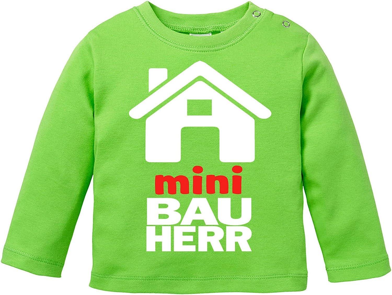 EZYshirt Mini Bauherr//in Baby T-Shirt Longsleeve