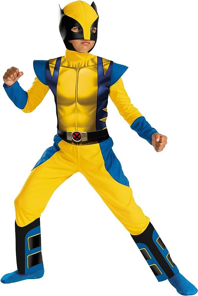 Disfraz Lobezno Classic niño: Amazon.es: Juguetes y juegos