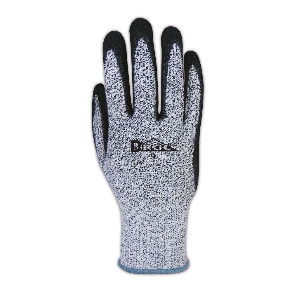 Magid D-ROC Blend with NitriX Grip Coating, Cut Level 2, Grey