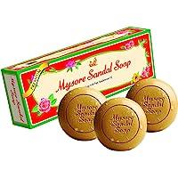 Mysore Sandal Soap, 150g (Pack of 3)