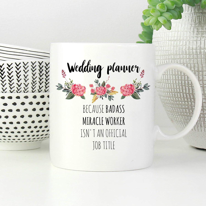 Taza de boda con planificador de boda, para regalo, boda ...